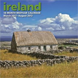2013 Midyear Ireland Wall Calendar