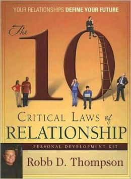 The 10 Critical Laws of Relationship: Personal Development Kit