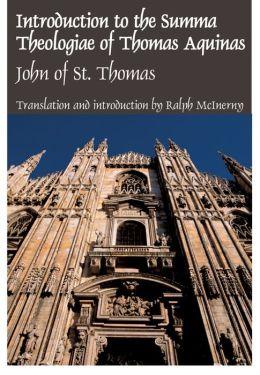 Introduction to the Summa Theologiae of Thomas Aquinas