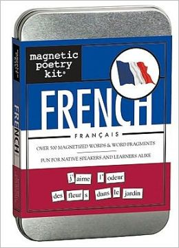 Magnetic Poetry French Kit