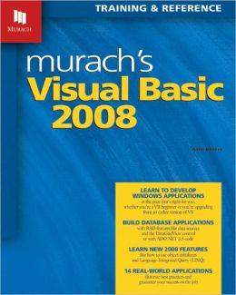 Murach's Visual Basic, 2008