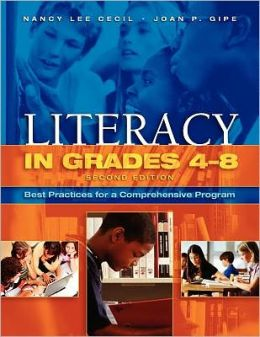 Literacy in Grades 4-8: Best Practices