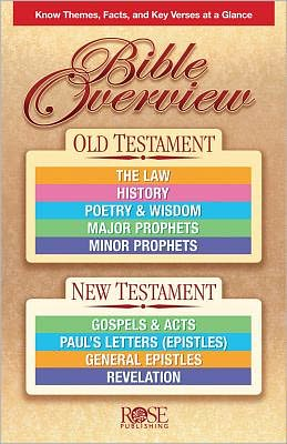 Bible Overview: Bible Overview Pamphlet