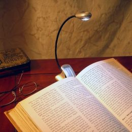 Mighty Bright Silver Xtraflex LED Booklight (Batt Inc)