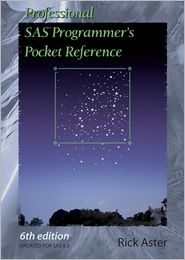 Professional SAS Programmer's Pocket Reference