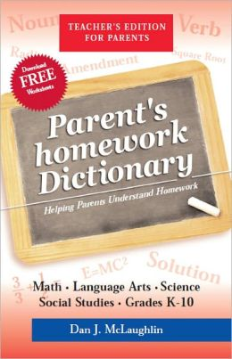 Parent's Homework Dictionary