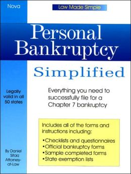 Personal Bankruptcy Simplified (Law Made Simple)