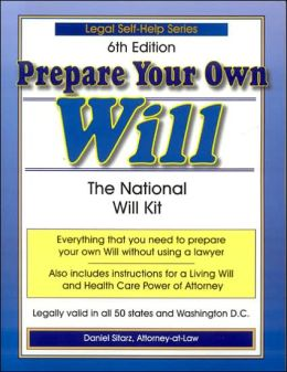 Prepare Your Own Will: The National Will Kit