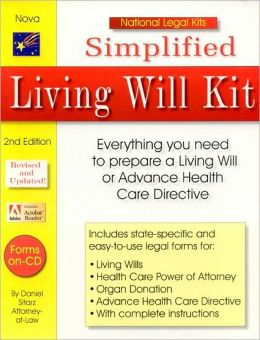 Simplified Living Will Kit, 2nd Edition