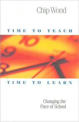 Time to Teach, Time to Learn: Changing the Pace of School