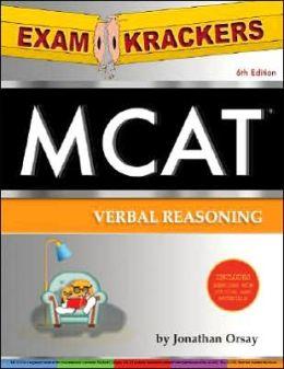 MCAT Verbal Reasoning and Math