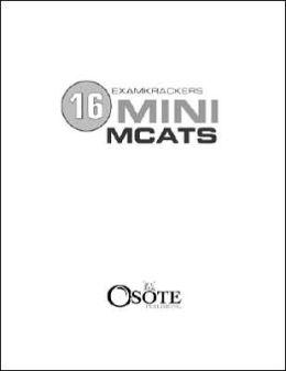 ExamKrackers 16 Mini MCAT's