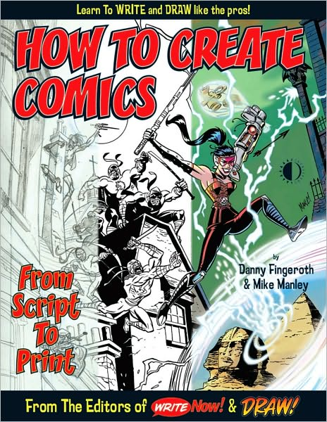 How to Create Comics, from Script to Print