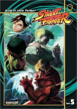 Street Fighter, Volume 5: Kick it into Turbo!