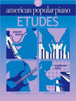 American Popular Piano: Etudes Level 7