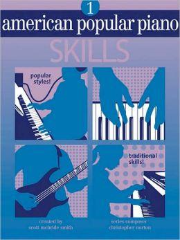 American Popular Piano: Level One - Skills