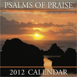 2012 Psalms of Praise Mini Wall Calendar