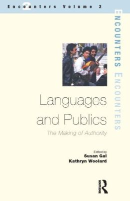 Languages and Publics: The Making of Authority