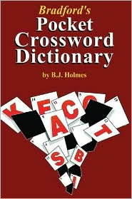 Bradford's Pocket Crossword Dictionary