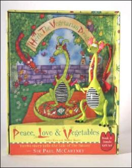 Herb, The Vegetarian Dragon: Peace, Love and Vegetables! Book & Bendo Gift Set