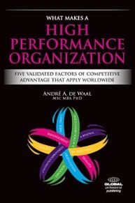 What Makes a High Performance Organization: Five Factors of Competitive Advantage that Apply Worldwide