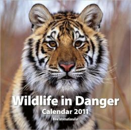 Wildlife in Danger Calendar