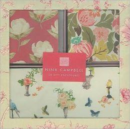 Nina Campbell Floral Gift Enclosures Set of 24