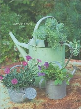 Garden Notes Theme Large Notebook