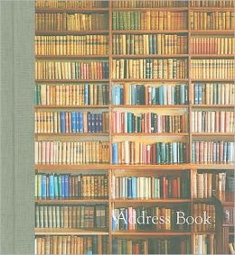 Living with Books Large Address Book