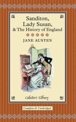 Sanditon: Lady Susan & The History of England