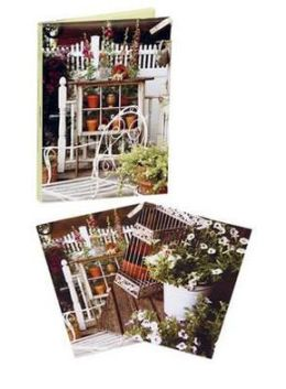 Country Garden Wallet Notecards