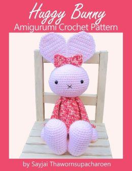 Huggy Bunny Amigurumi Crochet Pattern