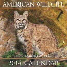 2014 American Wildlife Wall Calendar