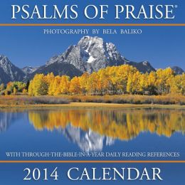 2014 Psalms of Praise Wall Calendar