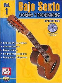 Bajo Sexto -- Acordes y Progresiones, Vol 1: (Spanish Language Edition), Book & CD
