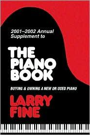 Piano Book: 2001-02 Annual Supplement