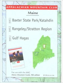 Maine Mountains Trail Map 1: Baxter State Park-Katahdin/Rangeley-Stratton/Gulf Hagas