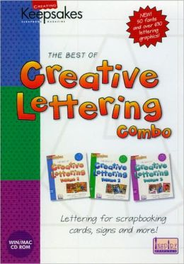 Best of Creative Lettering Combo: Lettering for Scrapbooking, Cards, Signs and More!