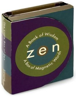Little Box of Zen with Book(S) and Magnetic Letters