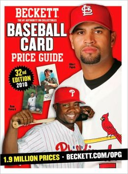 Beckett Baseball Card Price Guide #32: 2010 Edition