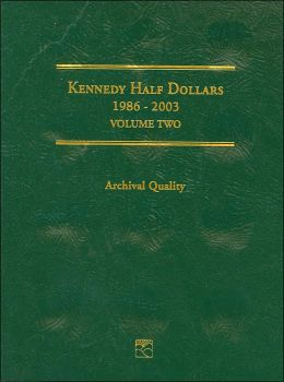 Kennedy Half Dollars 1986-2003