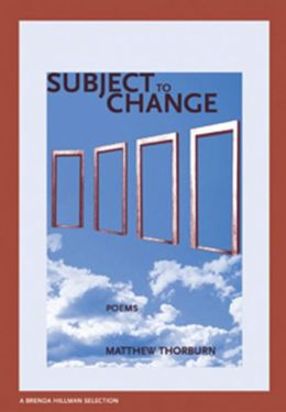 Subject to Change (New Issues Poetry & Prose Series)
