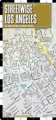 Streetwise Los Angeles Map - Laminated City Center Street Map of Los Angeles, California - Folding Pocket Size Travel Map With Metro (2013)