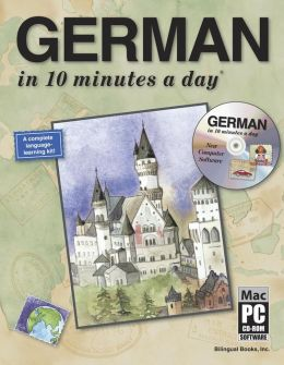 GERMAN in 10 minutes a day with CD-ROM