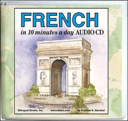 FRENCH [i]in 10 minutes a day[/i][sup]R[/sup] AUDIO CD Wallet - Library Edition