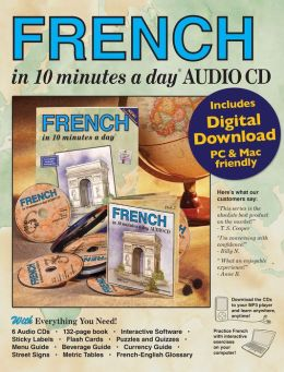 FRENCH in 10 minutes a day with Audio CD