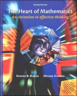 The Heart of Mathematics: Book with CD and Glasses