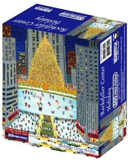 Rockefeller Center Holiday 500 Piece Puzzle