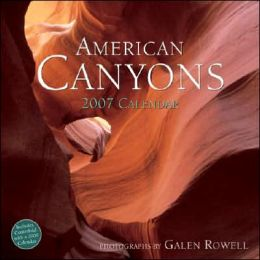 American Canyons 2007 Calendar