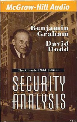 Security Analysis: The 1934 Original Edition